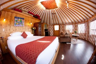 Y3-Tatoosh Yurt Interior